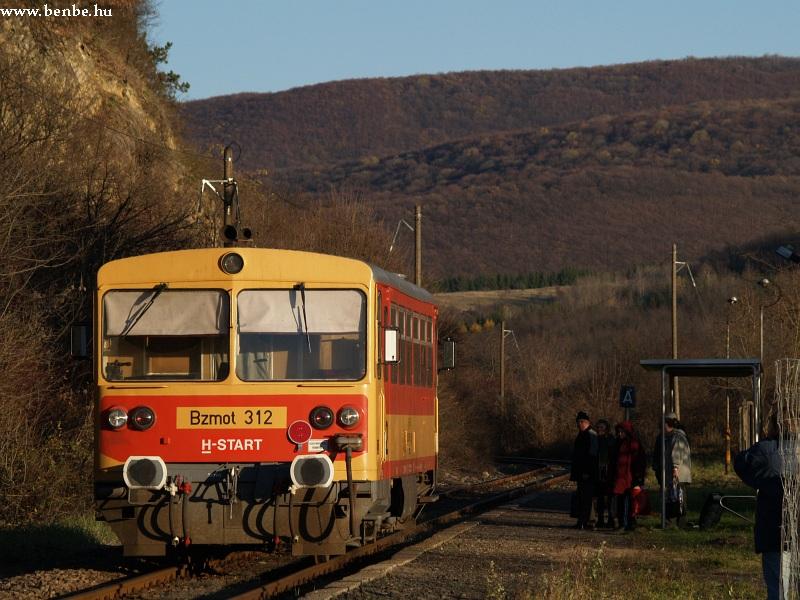 Bzmot 312 Nagyvisnyó-Dédes megállóhelyen fotó