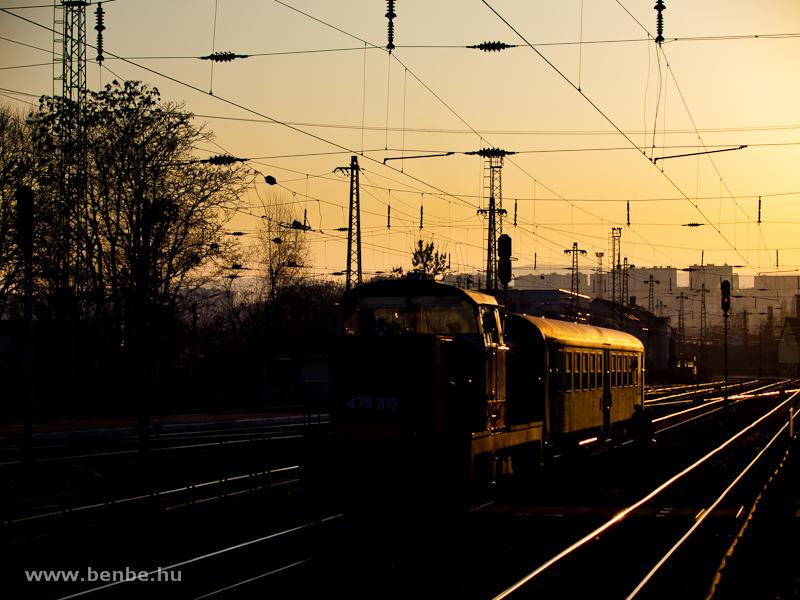 A MÁV-TR 478 313 (ex M47 1313) Miskolc-Tiszai pályaudvar fotó
