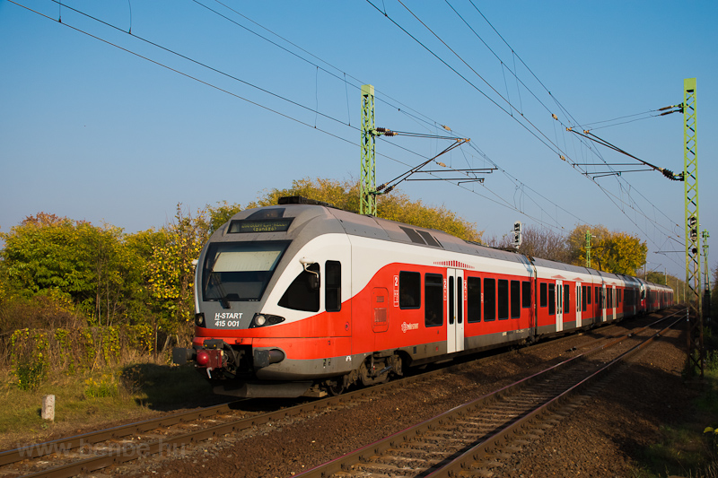 The MÁV-START 415 001 seen  picture