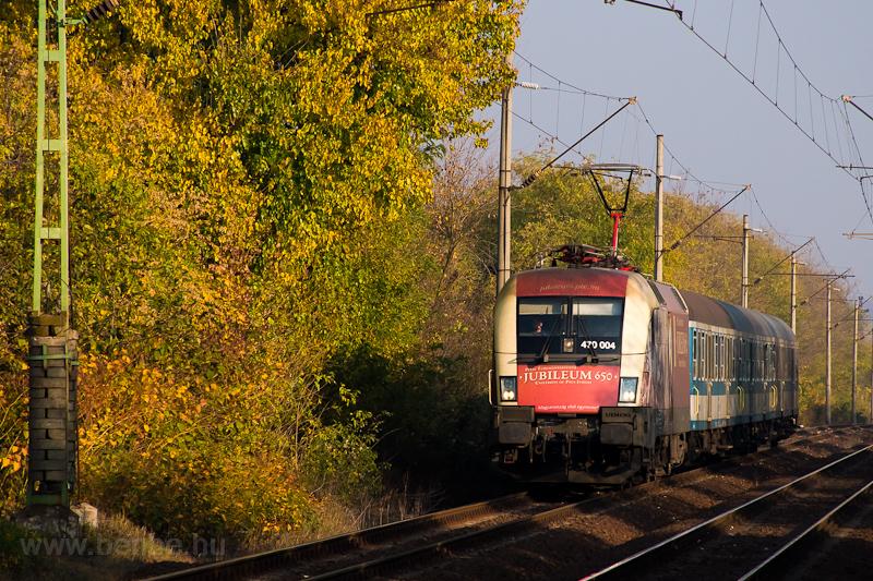 A MÁV-START 470 004  PTE Jubileum Taurus  Mende és Gyömrő között fotó