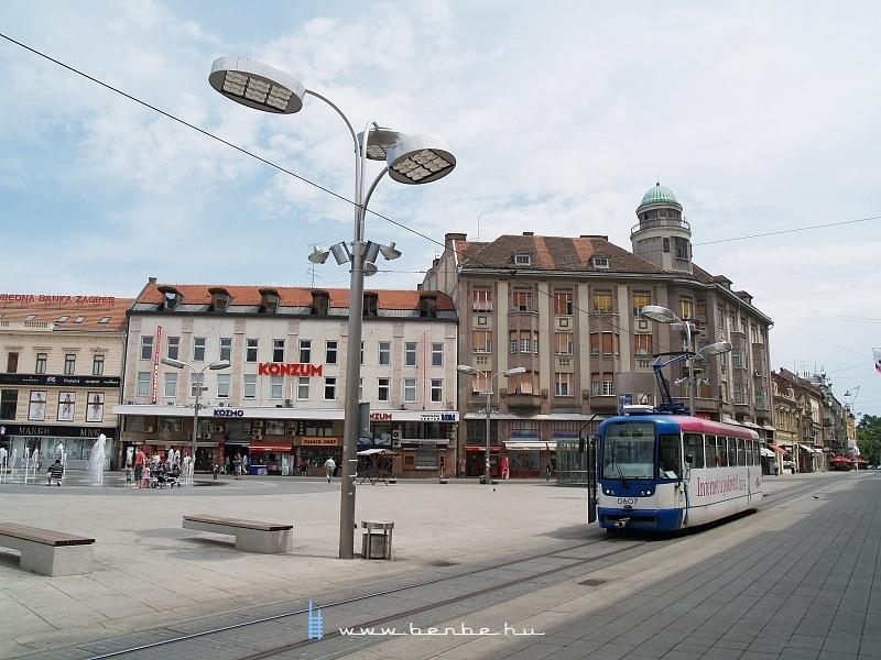 Trg Ante Starčeviæa, az eszéki fõtér fotó