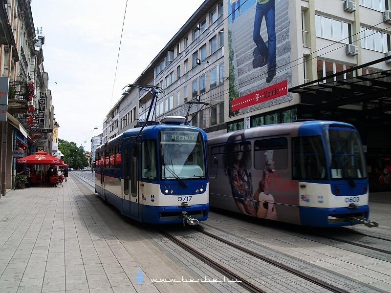Eszéki Tatra T3-as villamosok fotó
