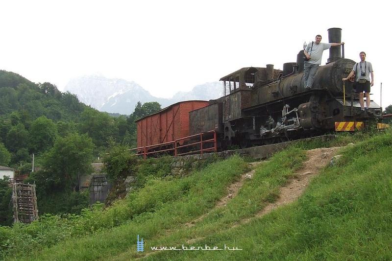 Kisvasúti gõzmozdony Jablanica közelében fotó