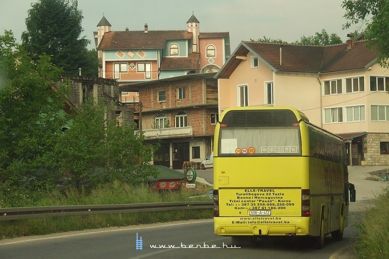 Autózás Konjic felé fotó