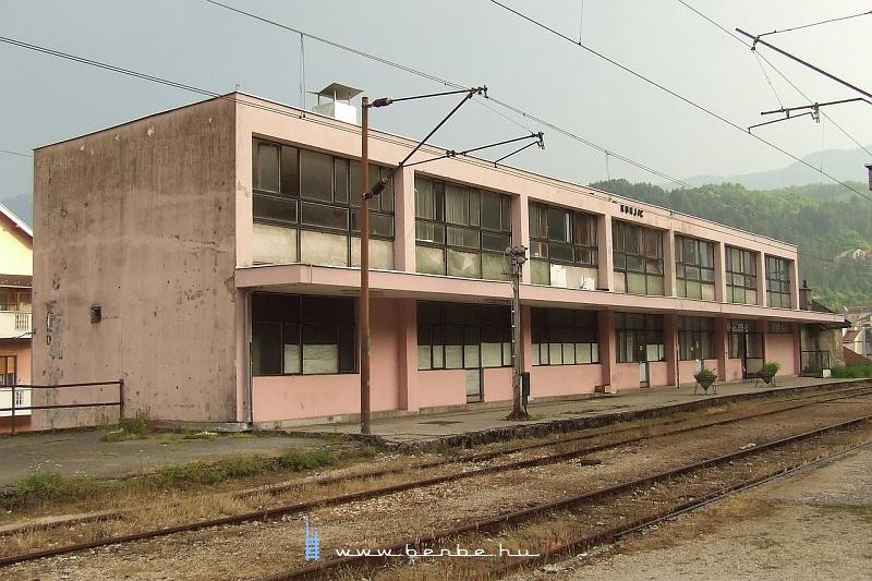 Konjic állomás, 340 méterrel az Adria fölött fotó