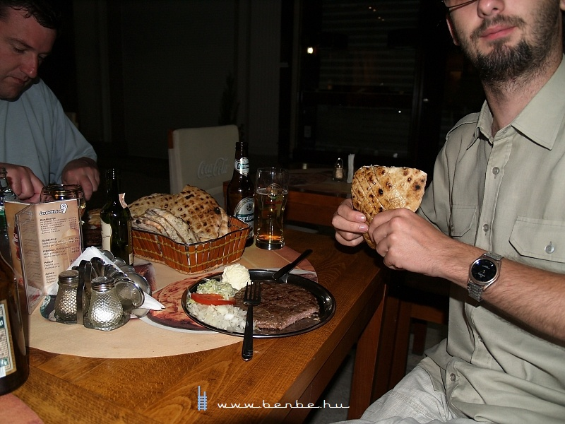 Vacsora Szarajevo óvárosában fotó