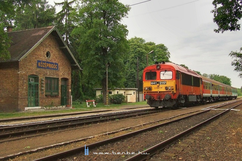 The M41 2117 at Középrigóc photo