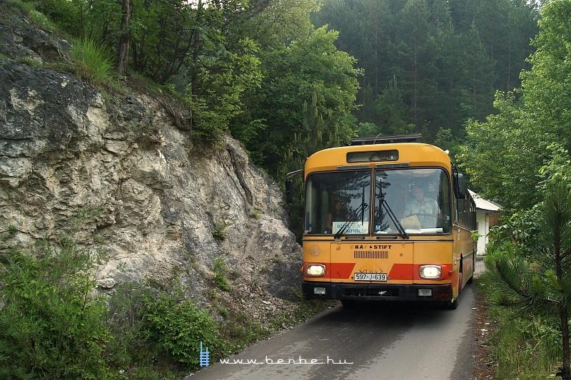 Grad-Ovčari-Konjic iskolabusz fotó
