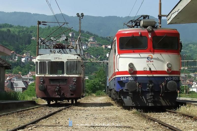 441-908 Konjic állomáson fotó