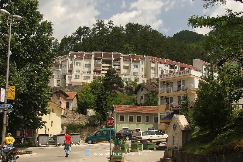 Városképek Konjicból fotó