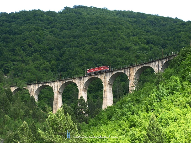 441-308 a Nagy Ovcari-viadukton fotó