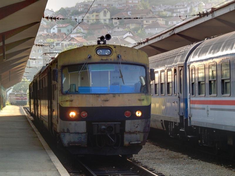 Az egyik Ganz motorvonat Szarajevóban fotó