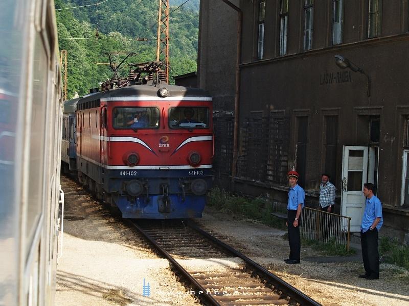 441-102 Lasva állomáson fotó