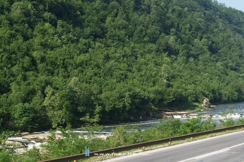 A Boszna-folyó egy szebb része fotó