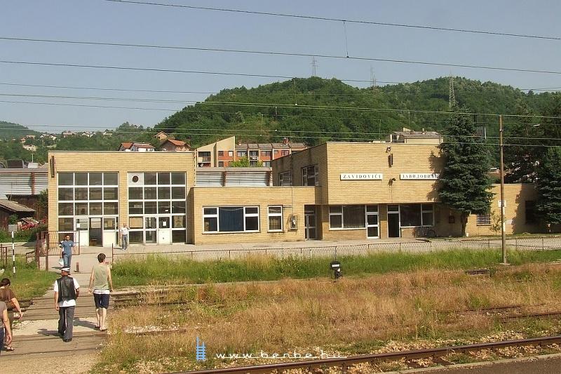 Zavidovici állomás fotó