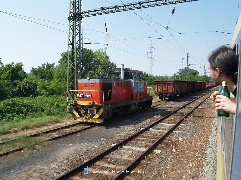 M47 1209 Pécsbánya-rendezõben fotó