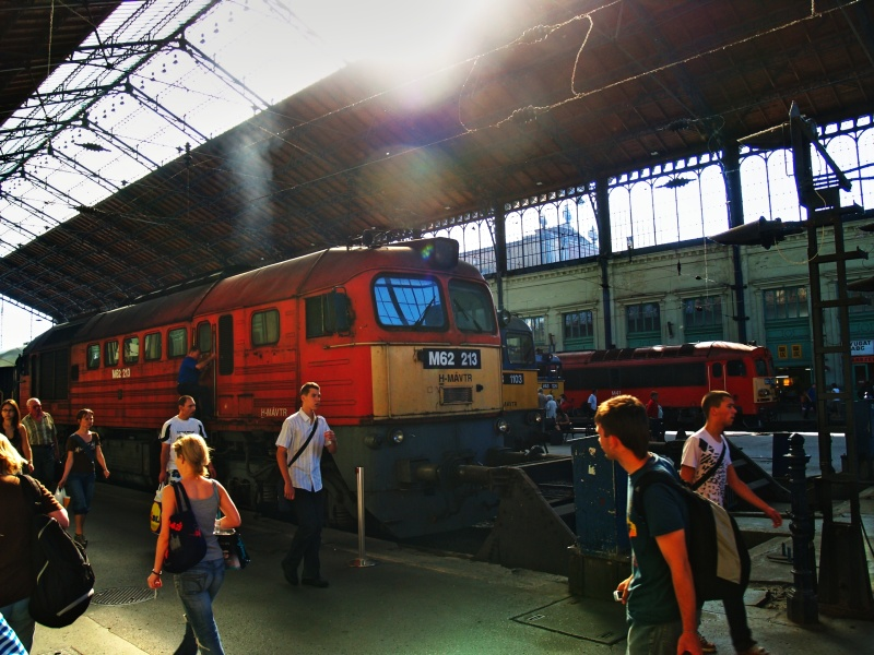 M62 213 és a VSOE Orient-expresszt fotó
