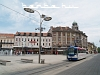 The Trg Ante Star�evi�a, the main square at Esz�k (Osijek)
