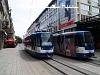 Tatra T3YU trams at Osijek