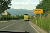Driving back to Konjic