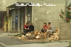 Teenagers after cutting up some wood in Konjic