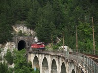 The 441-308 at the Great Ovcari-viaduct