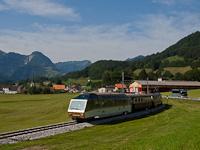 A MOB GDe 4/4 6003  Train du chocolat  Albeuve és Neirivue között