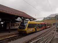 A MOB Be 4/4 5003 Zweisimmen állomáson
