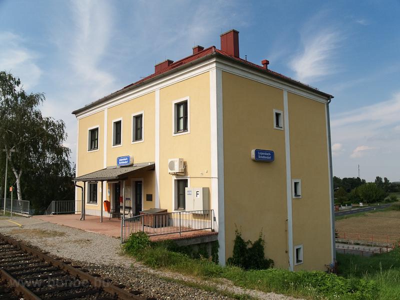 Lépesfalva-Somfalva (Loipersbach-Schattendrof) vasútállomása fotó