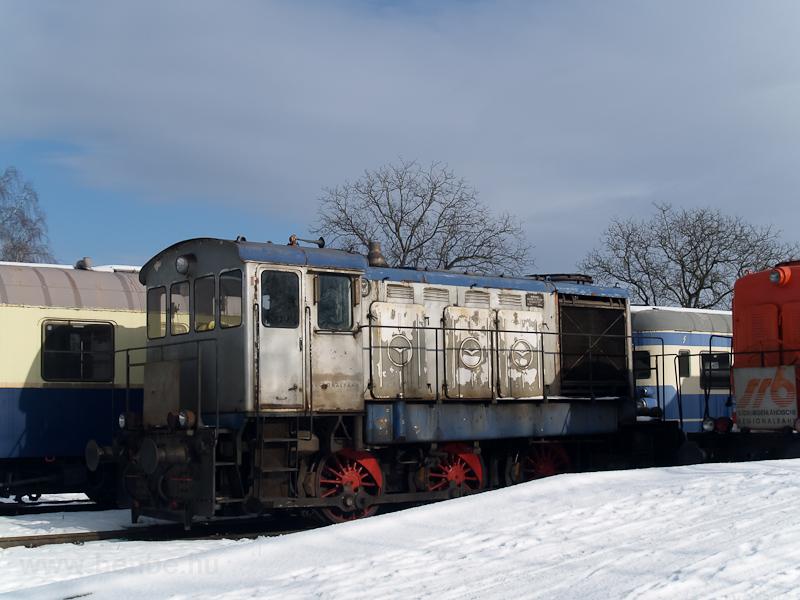 MÁV eredetű M31-esek a Südburgenlandische Regionalbahn telephelyén Nagyszentmihályon (Großpetersdorf, Ausztria) fotó