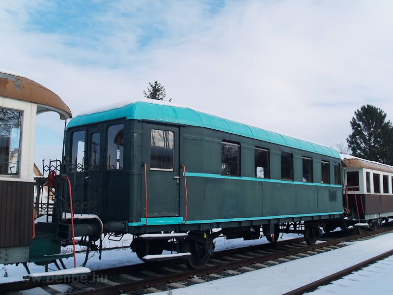 MÁV BCmot-pótkocsi (BCx) a Südburgenlandische Regionalbahn telephelyén Nagyszentmihályon (Großpetersdorf, Ausztria) fotó