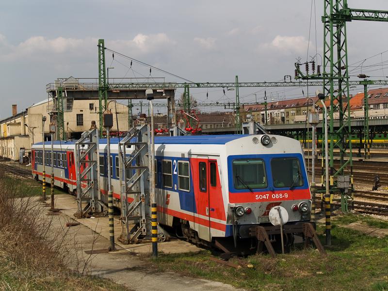 Az ÖBB 5047 088-9 Sopron f& fotó