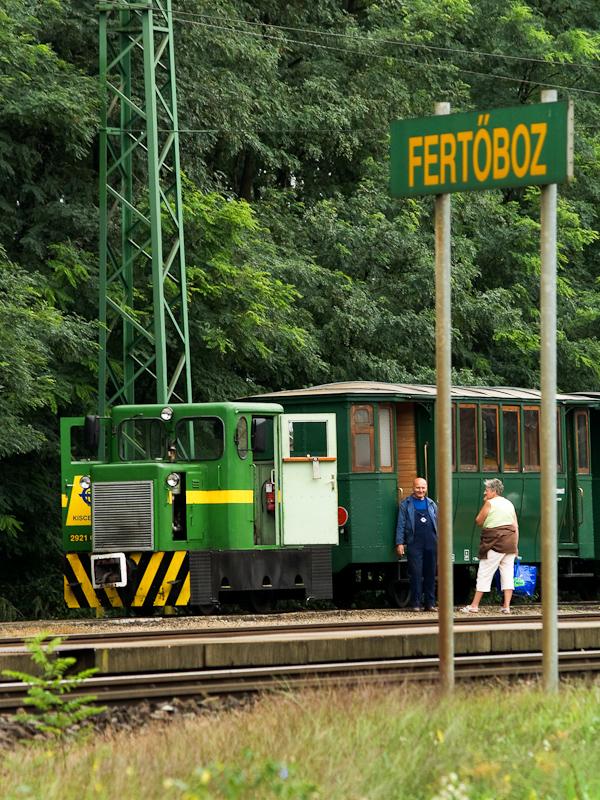 A Kiscenk mozdonyka Fert fotó