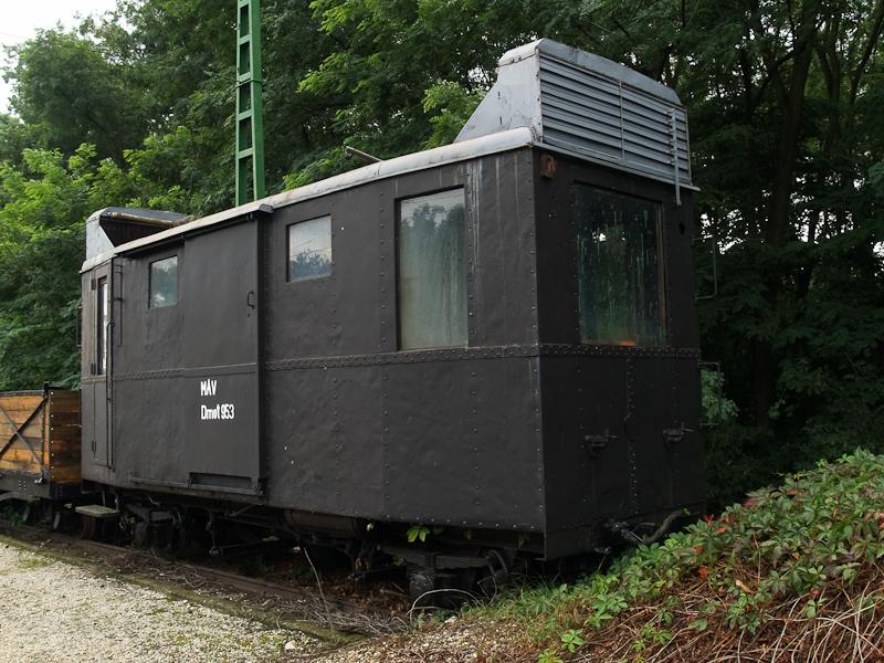 A MÁV Dmot 953, kecskeméti eredetű motorkocsi Fertőbozon fotó