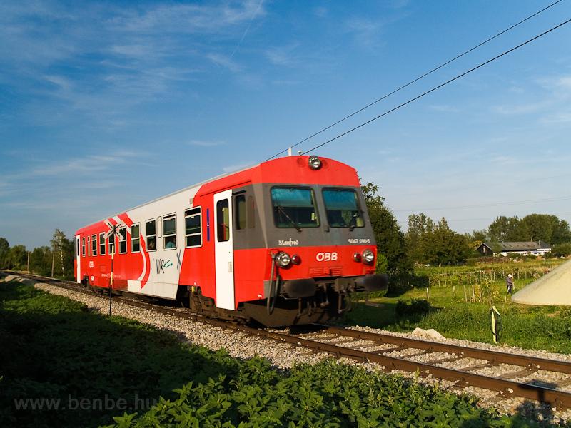 Az ÖBB 5047 090-5 Feketevárosban (Purbach, Ausztria) fotó