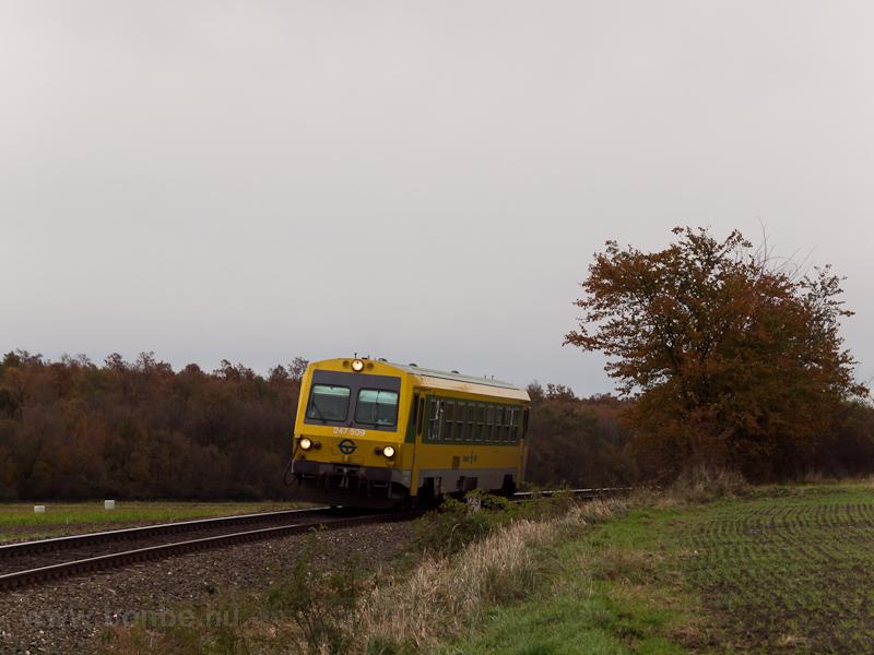 A GYSEV zöld-sárga 247 509- fotó