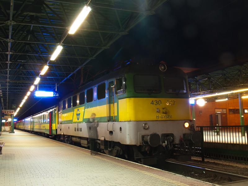 A GYSEV 430 327 Sopronban fotó