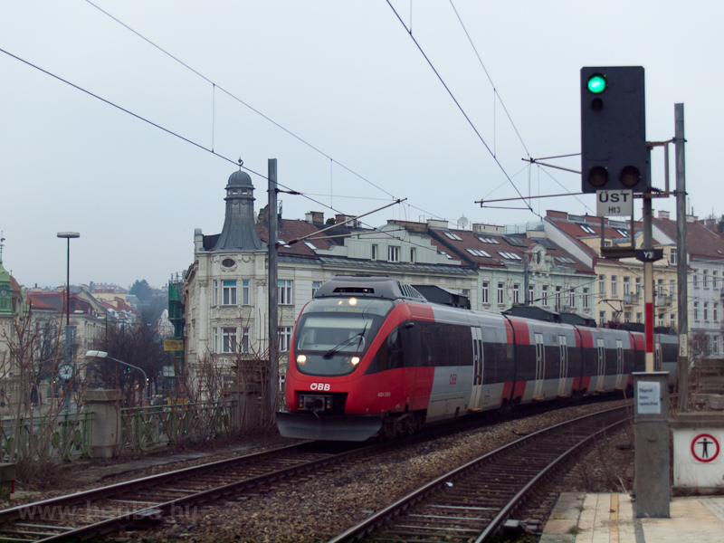 The ÖBB 4024 128-3 near Gersthof photo