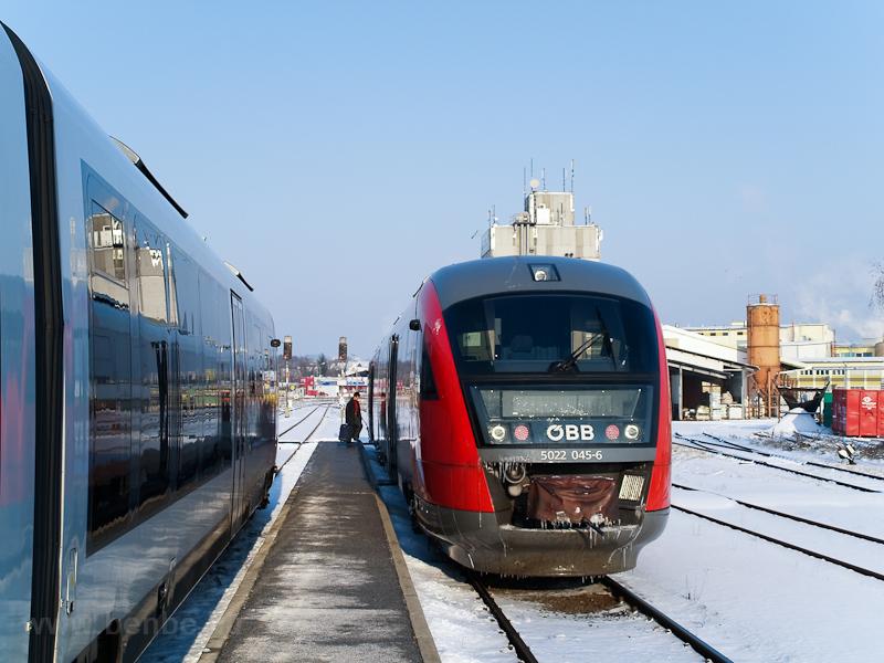 Az ÖBB 5022 045-6 Hartberg állomáson fotó