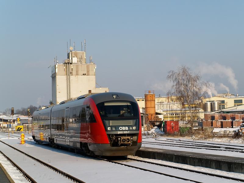Az ÖBB 5022 035-7 Hartberg állomáson fotó