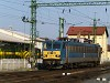 The MÁV-TR V63 153 is seen running around at Sopron
