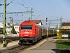 Az ÖBB 2016 020-6 Bécsújhelyről érkezik InterCity vonatával Sopronba