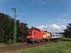 A GYSEV 1116 064-5 Fertőboz és Sopron között