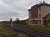 Ágfalva station - it should recieve a platform during the electrification of the railway