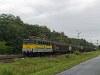 A GYSEV V43 335 tehervonat�val Fertőbozon