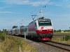 Az ÖBB 1014 013-5 ingavonattal Barátudvar-Féltorony (Mönchhof-Halbturm, Ausztria) és Boldogasszony (Frauenkirchen, Ausztria) között