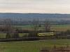 A GYSEV 247 509 Sopron-Ipartelep (ex-Sopron-Déli) és Ágfalva között