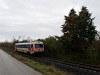 A még osztrák fényezésű (Jaffa) GYSEV 247 505 Ágfalva és Sopron-Ipartelep (ex-Sopron-Déli)  között