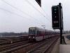 A 2694 pályaszámú, T sorozatú metrószerelvény az U6-os vonal Neue Donau állomásán