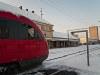 Desiro Feldbach, 1800 V egyenárammal villamosított állomásán a Szombathely-Graz vonalon (a Z-betű a felhatalmazás)